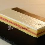 Erdbeer-Buttermilch Schnitte im Gastronorm Format
