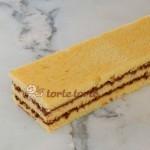 Schoko-Biskuit-Schnitte im Gastronorm Format