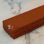 Schoko-Trüffel-Schnitte im Gastro Norm Format